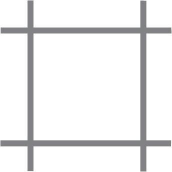 Volieregaas Quadra verz. 13x0.8 50 cm  x 10 m