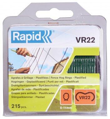 Rapid Nieten VR22 groen gecoat 215 stuks
