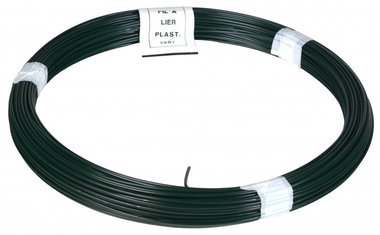 Binddraad PVC groen 1.4/2.0 mm 50 m
