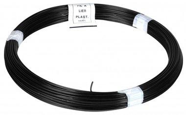 Binddraad PVC zwart 1.4/2.0 mm 50 m