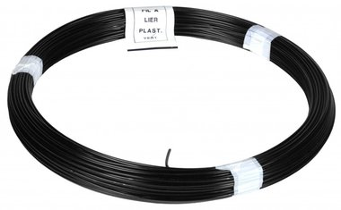 Binddraad PVC zwart 100 m 1.4/2.0 mm