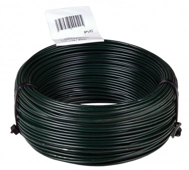 Binddraad PVC groen 1.4/2.0 mm 50 mtr-ring