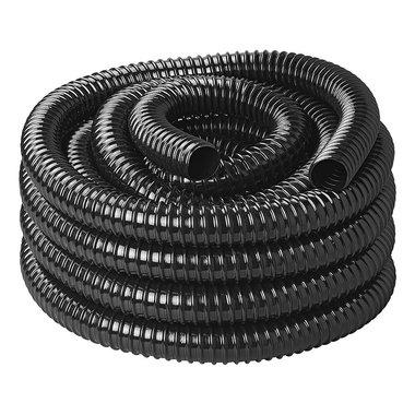 Afvalwaterslang zwart 10M / 25mm