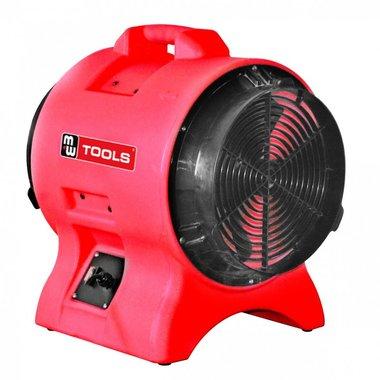 Mobiele ventilator 250W 230V