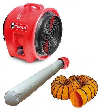 Ventilator MV400PP met accessoires