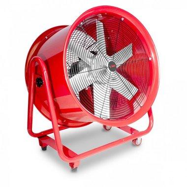 Mobiele ventilator op wielen 2200W 3x400V