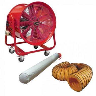 Mobiele ventilator MV400R3 met accessoires