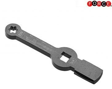 Speciale sleutel voor remklauwschroefverbinding