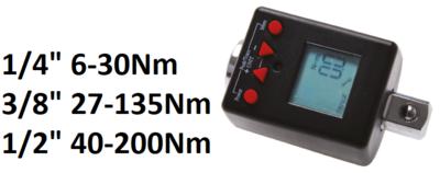Bgs Technic Moment-adapter, digitaal 1/4