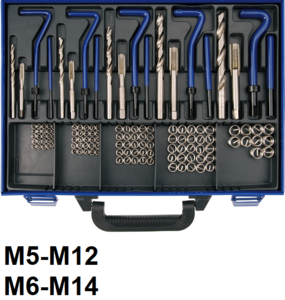 Bgs Technic Schroefdraad reparatieset M5-M12