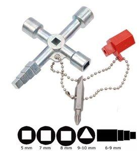 Bgs Technic Kastsleutel / Paneelsleutel / multisleutel