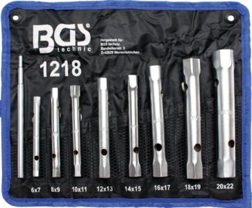 Bgs Technic Pijpsleutelset 6x7 - 20x22 mm 8-delig