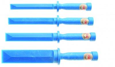 Kunststof schraper set 19 - 22 - 25 - 38 mm breed 4 stuks