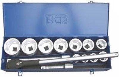 Bgs Technic Dopsleutelset, 1 inch, 15 delig
