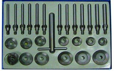 Bgs Technic Klepzetel frees, 30-60 mm, 27 dlg