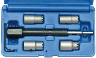Injectoren zittingfreesset voor CDI-motoren 5-delig