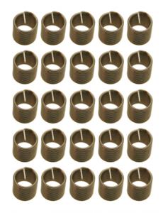 Bgs Technic Schroefdraad huls, M10x1,5 mm, 25-delig