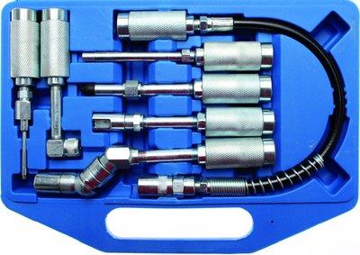 Bgs Technic Adapter en toebehorenset voor vetspuiten 7-delig