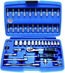 Bgs Technic Dopsleutelset 6,3 mm (1/4) 46-delig