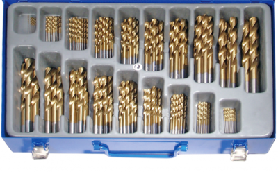 Bgs Technic Boorcassette titanium,170 dlg rolgewalst