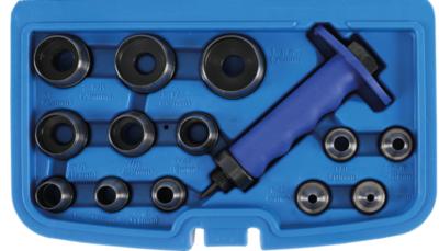 Bgs Technic Holpijpen set, 5-35 mm, 14 delig