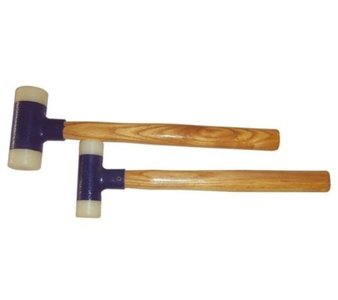 Bgs Technic Hamer, nylon kop, 30 en 45 mm, 2 delig