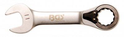 Bgs Technic Ratel ringsteeksleutel kort, omschakelbaar 11 mm