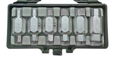 Bgs Technic Oliecarterplug sleutel set -6-delig
