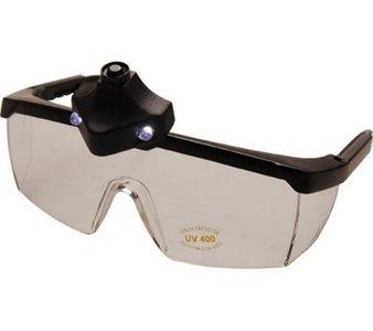 Veiligheidsbril, met ledlamp
