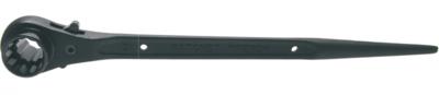 Bgs Technic Werfpuntratel, omschakelbaar 17mmx21mm