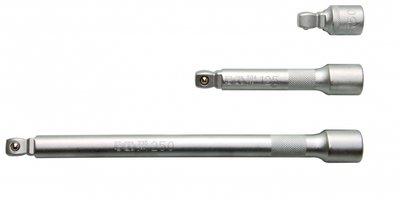 Verlengstuk set 1/2 3-delig, 50, 125 en 250 mm