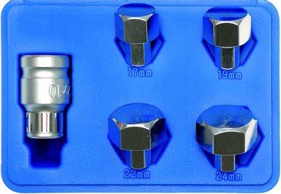 Bgs Technic As-verwijderaar 17, 19-22-24 mm