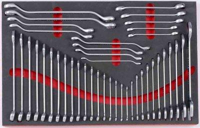 Foam Sleutel combinatieset 42 delig