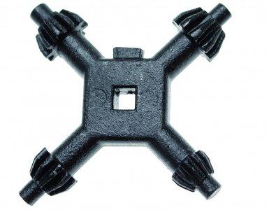Universele boorkop kruissleutel 4 - 7 mm