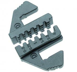 Krimpen van Jaws voor geïsoleerde kleine cord-end terminals