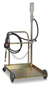 Mobiele pneumatische oliepomp 180-200 liter, manueel pistool