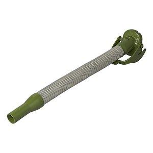 Schenktuit metaal flexibel geschikt voor benzine 20mm