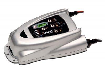 Elektronische batterijlader 12-24 v 15a