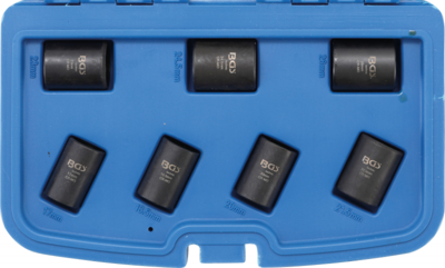 Speciale dopsleutelset/schroefuitdraaier 17 - 26 mm 7-dlg