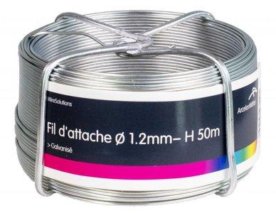 Binddraad verzinkt 1.2 mm 100 mtr-ring